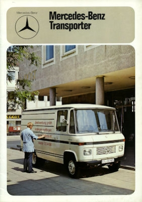 Mercedes-Benz Transporter Prospekt 3.1975