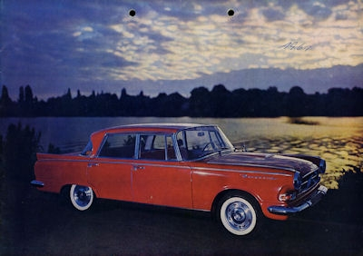 Borgward P 100 Prospekt 10.1960