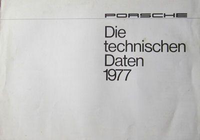 Porsche 911 Technische Daten 1977