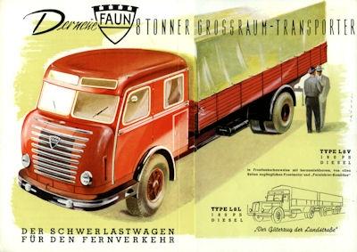 Faun 8 to Prospekt ca. 1950
