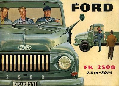 Ford FK 2500 Prospekt 1955