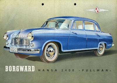 Borgward Hansa 2400 Prospekt ca. 1952