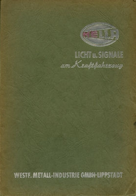 Hella Katalog 1955