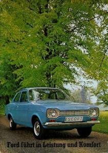 Ford Escort Prospekt 1969
