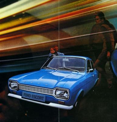 Ford Escort Prospekt ca. 1968