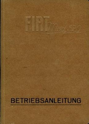 Fiat 520 Bedienungsanleitung 9.1928
