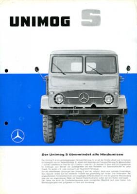 Mercedes-Benz Unimog S Prospekt 1962