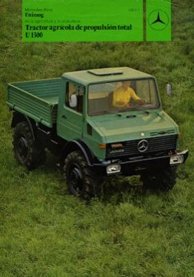 Mercedes-Benz Unimog U 1300 Prospekt 6.1980 sp