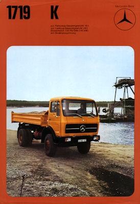Mercedes-Benz 9 Prospekte 1974