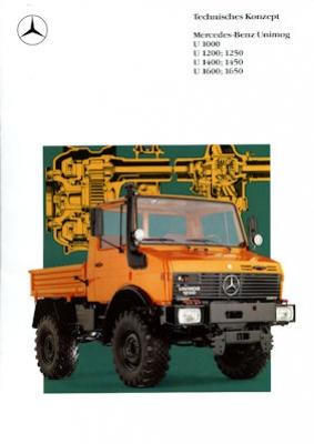 Mercedes-Benz Unimog Programm 2.1989