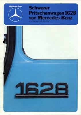 Mercedes-Benz Schwerer Pritschenwagen 1628 Prospekt 1980