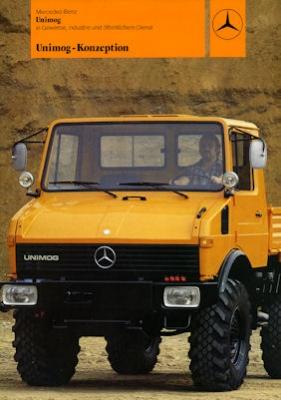 Mercedes-Benz Unimog Programm 5.1981