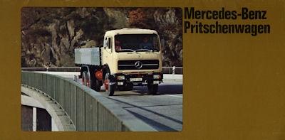 Mercedes-Benz Pritschenwagen Prospekt 1979