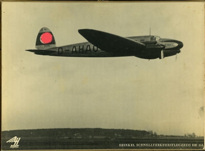 Werksfoto Heinkel 111 1930er Jahre