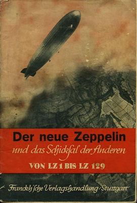 Der neue Zeppelin Franckh`sche Verlagshandlung 1936