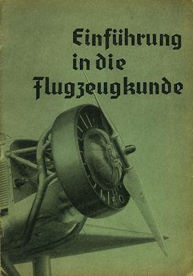 Merkle, Franz Einführung in die Flugzeugkunde ca.1940