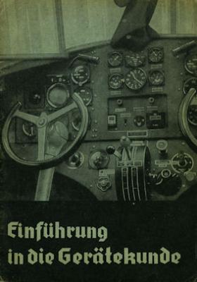 Merkle, Franz Einführung in die Gerätekunde ca.1940
