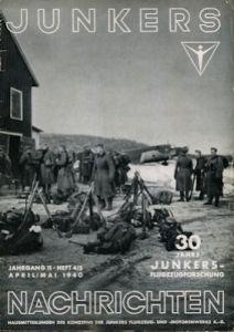 Junkers Nachrichten Nr. 4/5 1940