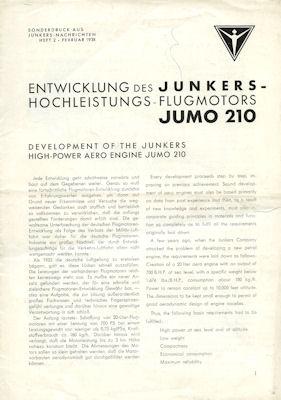 Junkers Jumo 210 Test 1938