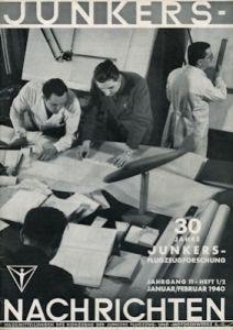 Junkers Nachrichten Nr. 1/2 1940