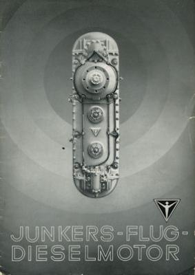 Junkers Diesel-Flugmotoren Prospekt 1937
