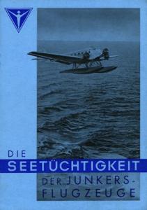 Junkers Seetüchtigkeit Prospekt 1937