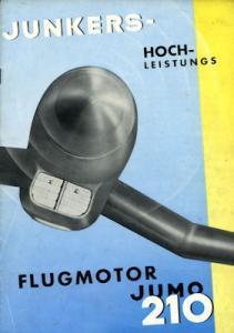 Junkers Jumo 210 Prospekt 1937