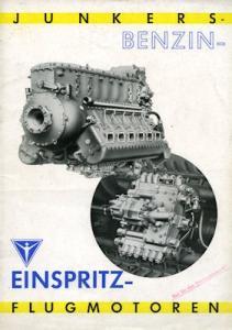 Junkers Flugmotoren Prospekt 1938