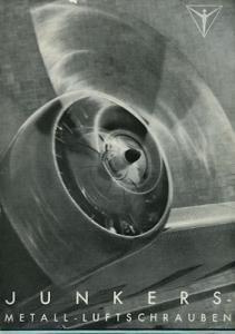 Junkers Metall-Luftschrauben Prospekt 1937