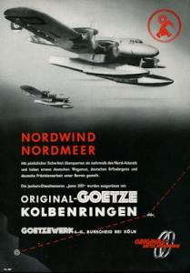Junkers Jumo 205 / Götze Kleinplakat 1940er Jahre