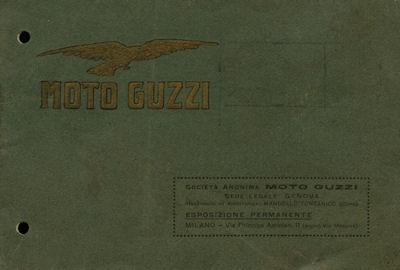 Moto Guzzi 500 ccm 3,5-5 PS Prospekt 1924