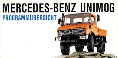 Mercedes-Benz Unimog Programm 7.1990