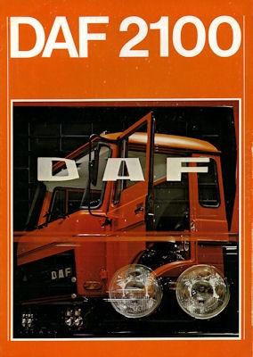 DAF 2100 Prospekt 9.1977