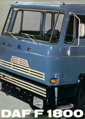 DAF 1800 Prospekt 1971