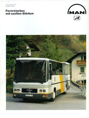 MAN Bus Test 1988