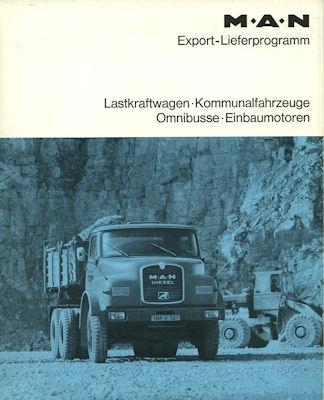 MAN Programm 1970er Jahre