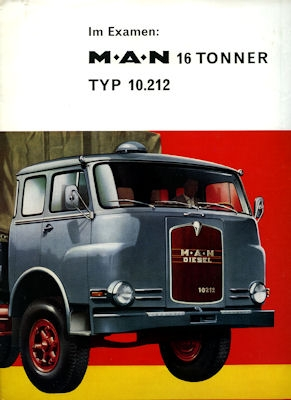 MAN Typ 10212 Test 9.1963