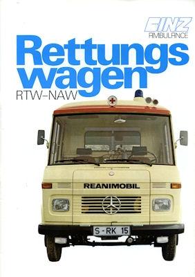 Mercedes-Benz Binz Programm 1980er Jahre