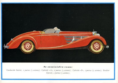 Mercedes-Benz Programm 1939 sp 2