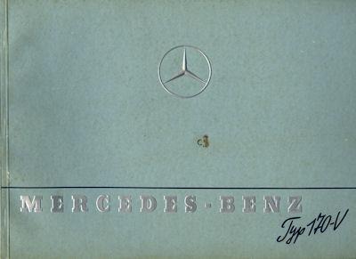 Mercedes-Benz Typ 170 V Prospekt 1.1939