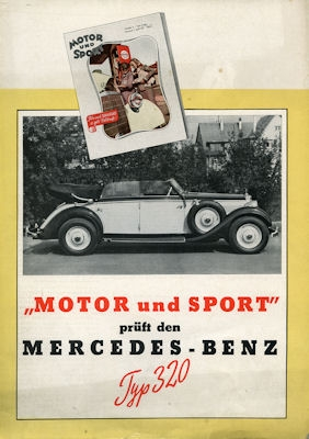 Mercedes-Benz Typ 320 Test 1939