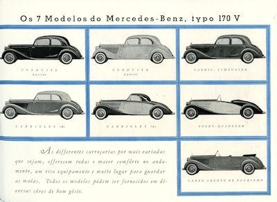 Mercedes-Benz Typ 170 V Prospekt 1.1939 port 1