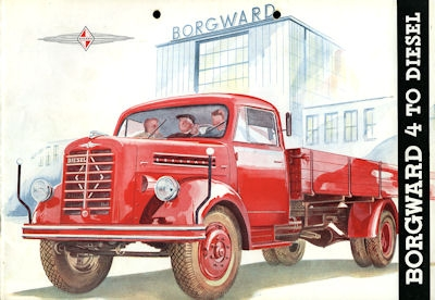 Borgward 4 to Prospekt 1952