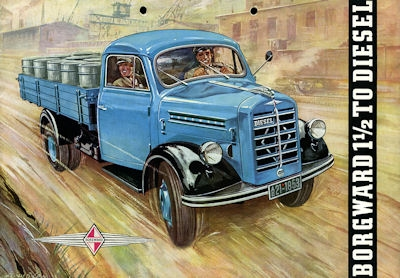 Borgward 1,5 to Prospekt 1953