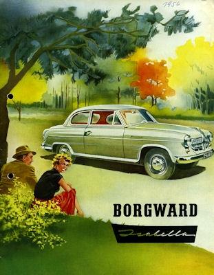 Borgward Isabella Prospekt 5.1956