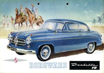 Borgward Isabella TS Prospekt ca. 1955
