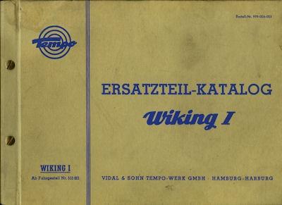 Tempo Wicking I Ersatzteilliste 7.1959
