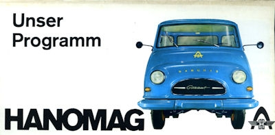 Hanomag Programm 1960er Jahre