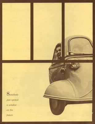 Messerschmitt KR 175 Prospekt 1950er Jahre US