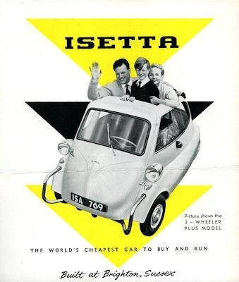 Isetta Prospekt 1950er Jahre e